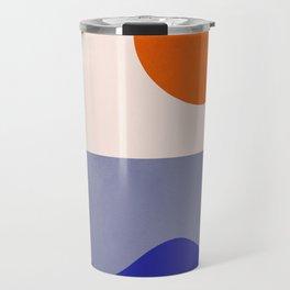 abstract minimal 50 Travel Mug