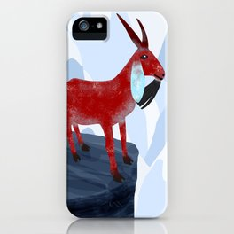 Mountain Goat Design iPhone Case