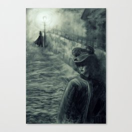 Whitechapel by Gaslight Canvas Print