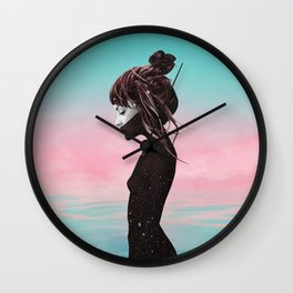 In comes the night Wall Clock
