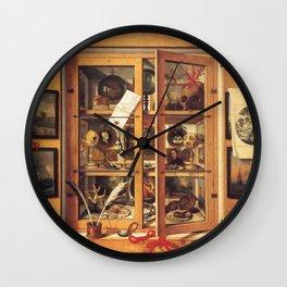 Cabinet of Curiosities Wall Clock