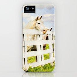 Barn Yard Dreamer iPhone Case
