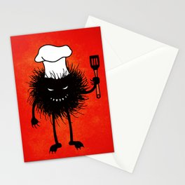 Evil Bug Chef Loves To Cook Stationery Cards
