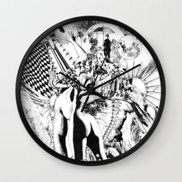 SINE IRA ET TIMOR Wall Clock