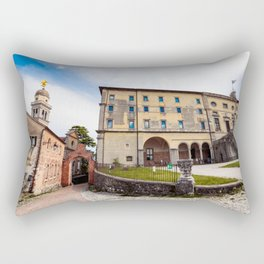 Spring afternoon in the city of Udine Rectangular Pillow