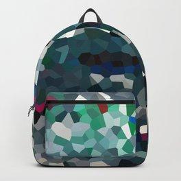 Emerald Sea Green Moon Love Backpack