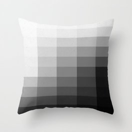 Fifty Shades of Gradient Throw Pillow