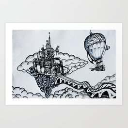 Cloudheim Art Print