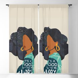 Be Happy Blackout Curtain