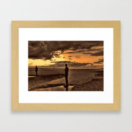 The Gormleys Framed Art Print