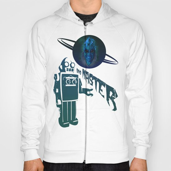 BLUE PLANET ALIEN (Us And Them) Hoody