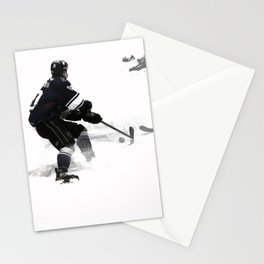The Deke - Hockey Player Stationery Cards