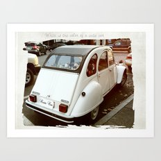 Cutie Car Art Print