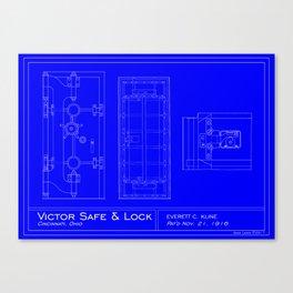 Victor Vault Door Canvas Print