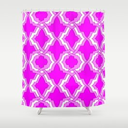 Grille No. 1 -- Violet Shower Curtain