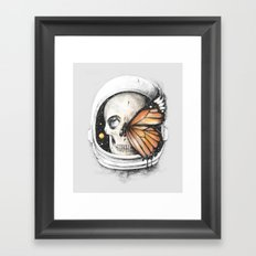 A Strange Existence of an Ending (A Space for a Beginning) Framed Art Print