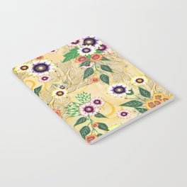 Psychedelic flowers  Notebook