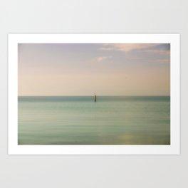 Calming Waters Art Print