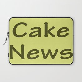 Cake News - Allusion to May in Salzburg Laptop Sleeve