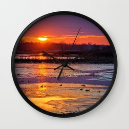 Duck Hole Wall Clock
