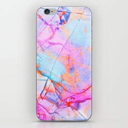 Graffiti Candy Marble iPhone Skin
