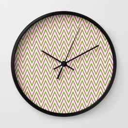 Frequen-Ziggs (Festive Mix) Wall Clock