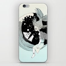 Moonwave (Or the Muse & the Seemingly Eternal Search for Existence in the Sea of Darkness & Dreams) iPhone & iPod Skin