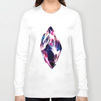 crystal Long Sleeve T-shirts featuring CRYSTAL by HAUS OF DEVON