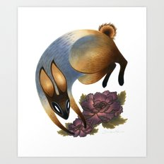 The Garden Thief Art Print
