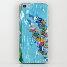 Plane Without Plane iPhone Skin