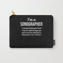 Sonographer Gifts Sonography Student Ultrasound Carry-All Pouch