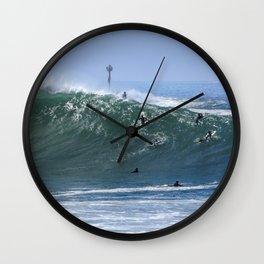 Big Wedge ~ July 4th 2020 Wall Clock