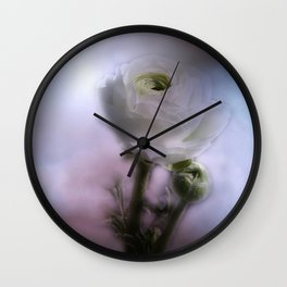 take time to look at flowers -10- Wall Clock