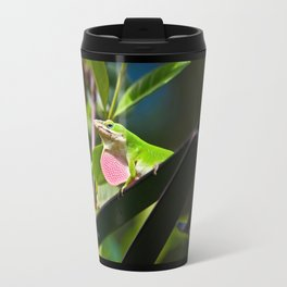 My dewlap is bigger than yours Travel Mug