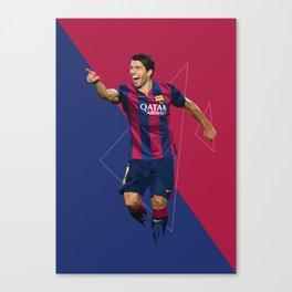 Suarez7 Canvas Print