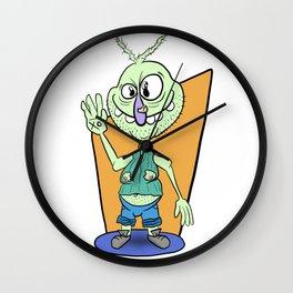 Weird Tony Papesh Style Wall Clock