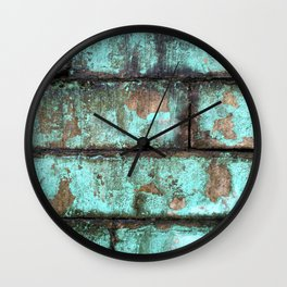 Urban Ruin Wall Clock
