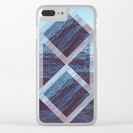 Peace At Sea Clear iPhone Case