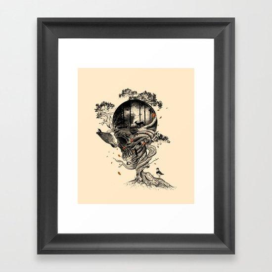 Lost Translation Framed Art Print