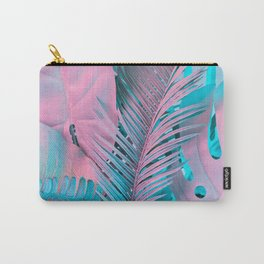 Neon Holographic Minimal 4 Carry-All Pouch