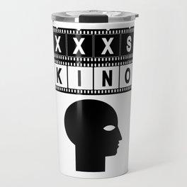 XXXS KINO HEAD FILMSTRIP Travel Mug