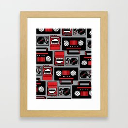 80's Music Framed Art Print