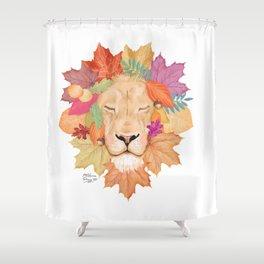 Autumn Leon Shower Curtain