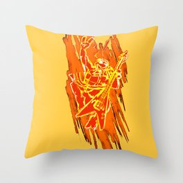 TMNT Rock: Mikey Throw Pillow