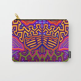 Peyote Butterfly Carry-All Pouch