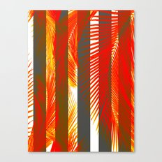 RED PALMS Canvas Print