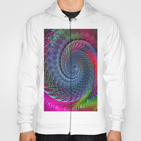 Time was (when there were things around to be afraid of) Hoody
