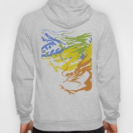 Colorful Dragon Chinese Hoody