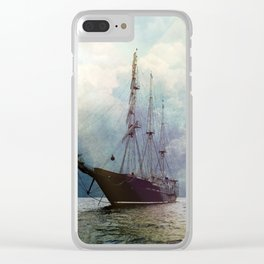 Fernweh for distant lands [expedition to Galapagos] Clear iPhone Case
