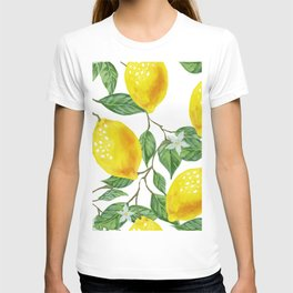 TROPICAL LEMON TREE T-shirt